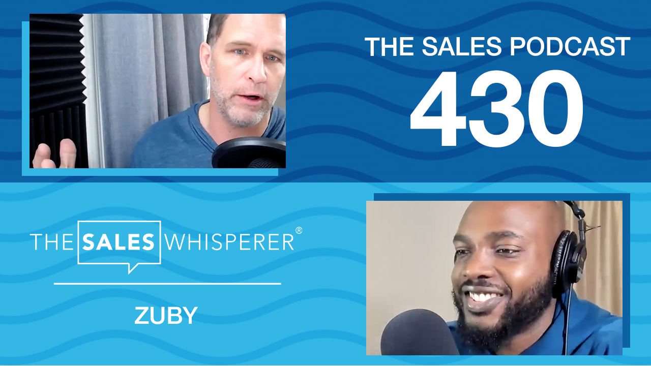 Learn why Zuby will become a household name and how he uses Twitter to get the word out on The Sales Podcast.
