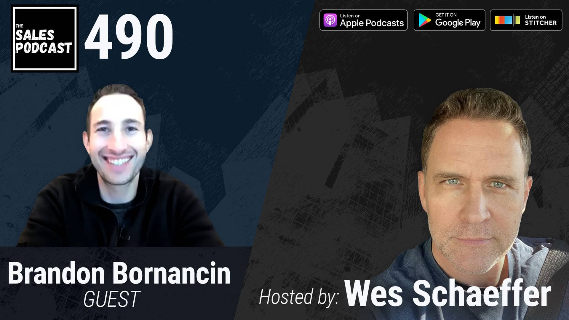 Find Any Lead Fast With Brandon Bornancin of Seamless.ai with Wes Schaeffer on The Sales Podcast