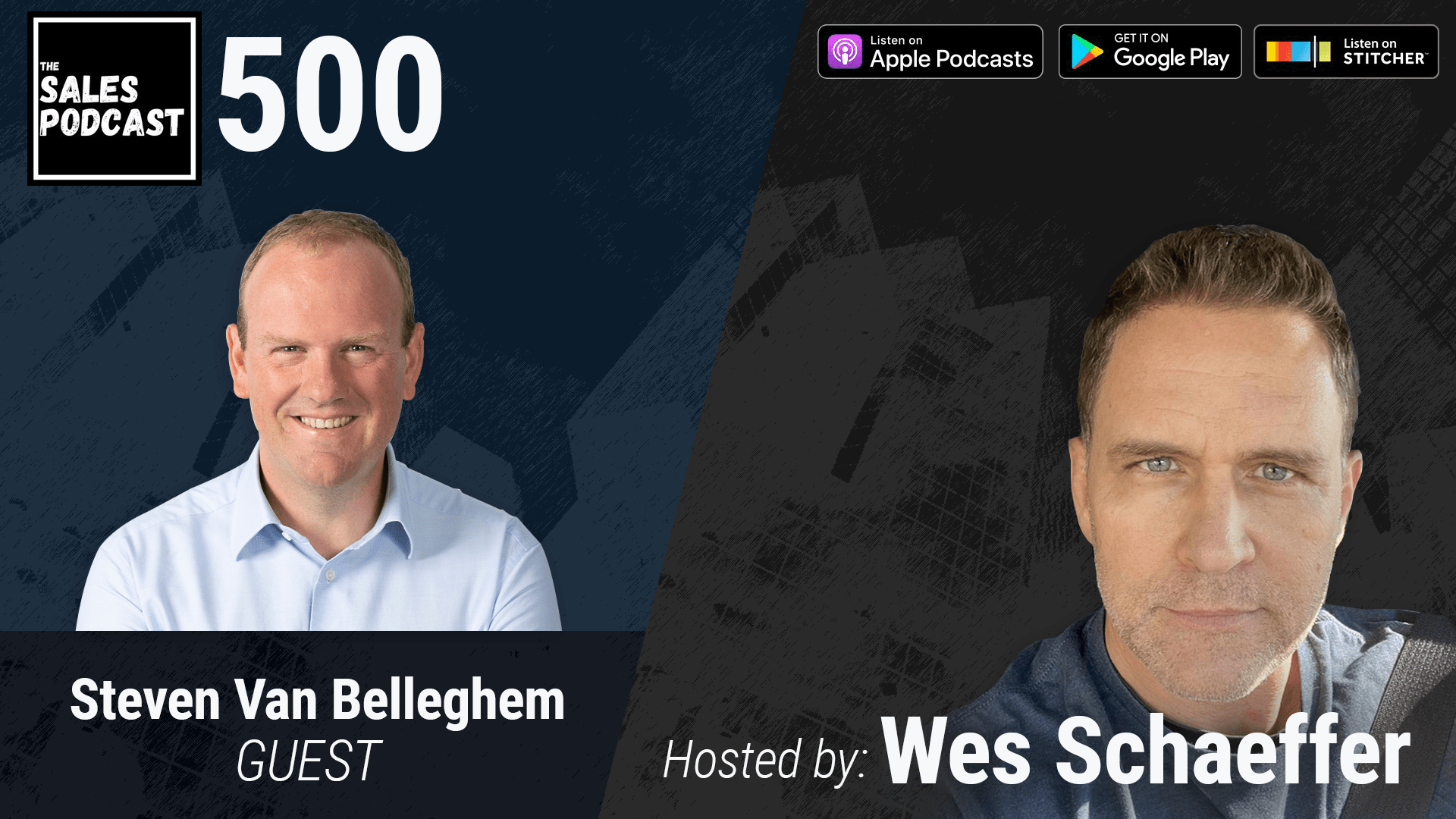 Being Average Is a Choice. Stand Out With Steven Van Belleghem on The Sales Podcast with Wes Schaeffer, The Sales Whisperer
