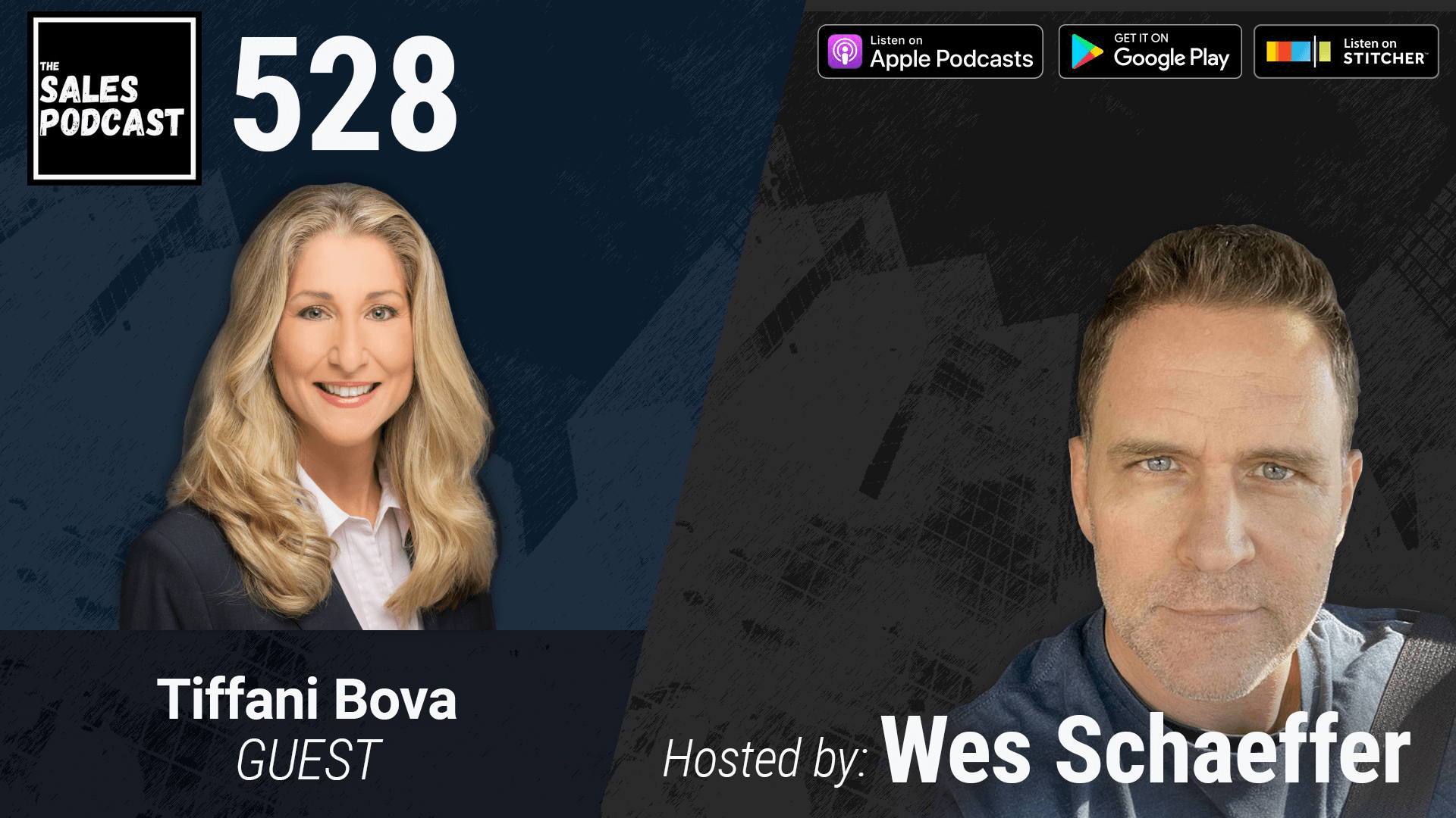 Grow Your Growth IQ With Tiffani Bova on The Sales Podcast with Wes Schaeffer, The Sales Whisperer®