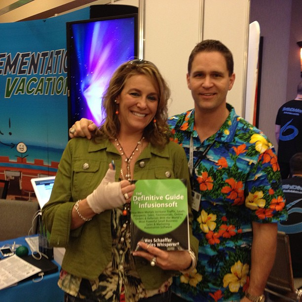 "Loral Langemeier loves ""The Definitive Guide To Infusionsoft"" from Wes Schaeffer, The Sales Whisperer®"