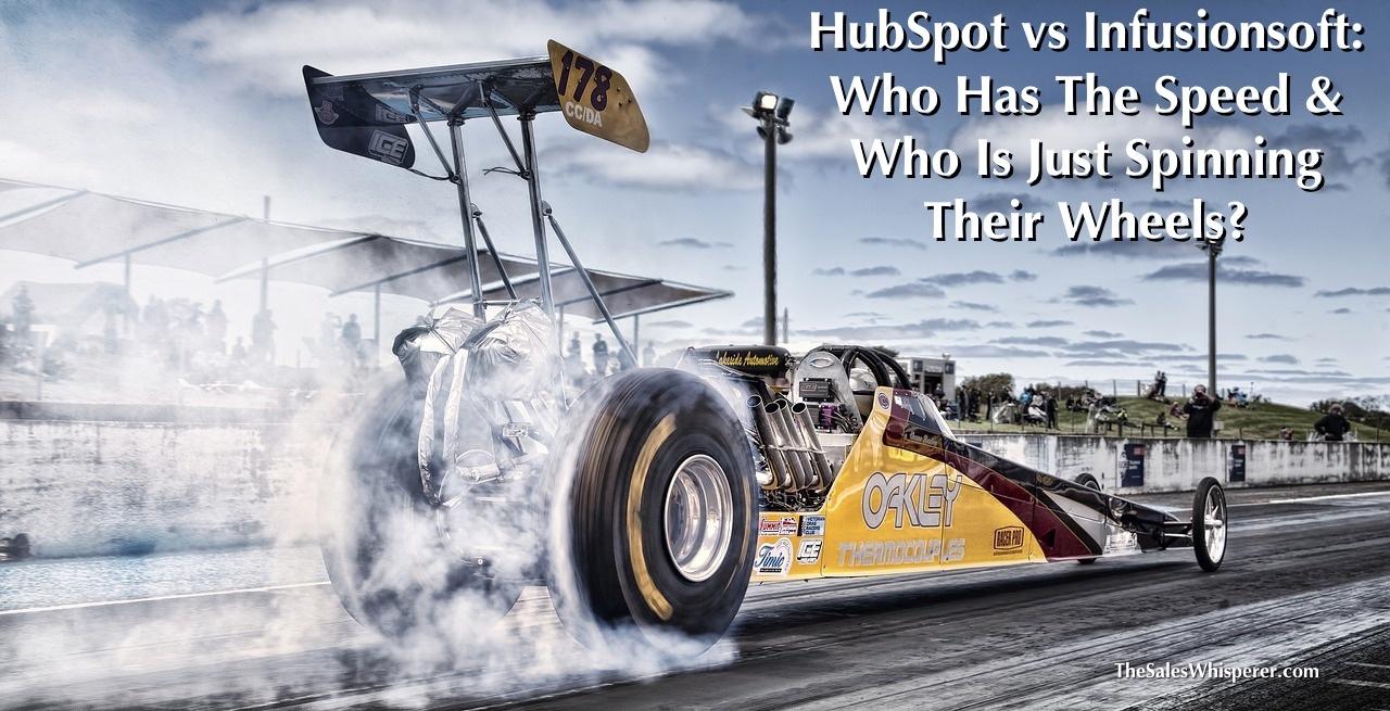 HubSpot vs Infusionsoft load speed test.