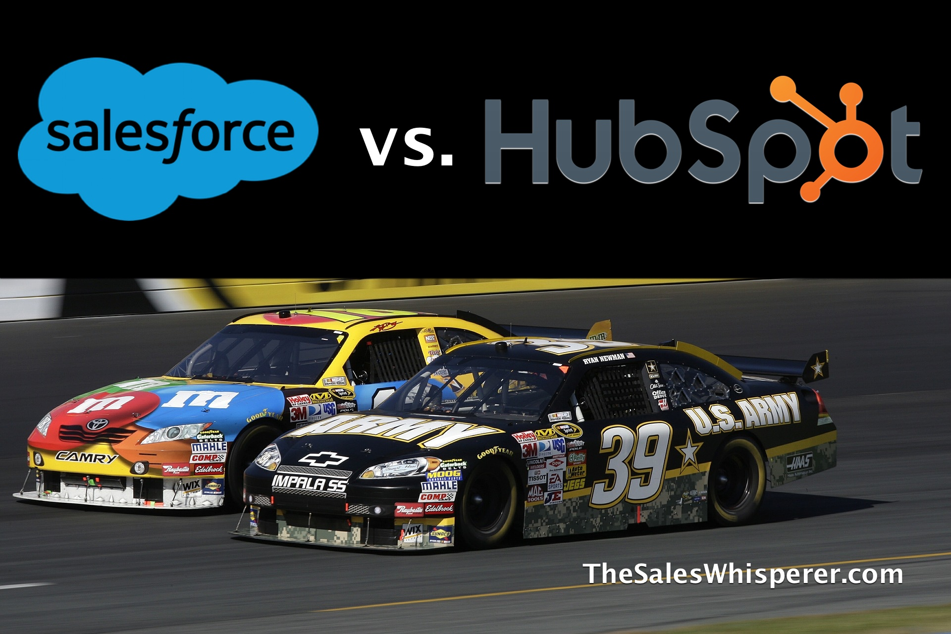 Salesforce vs HubSpot for the best CRM by HubSpot Gold partner Wes Schaeffer, The Sales Whisperer®