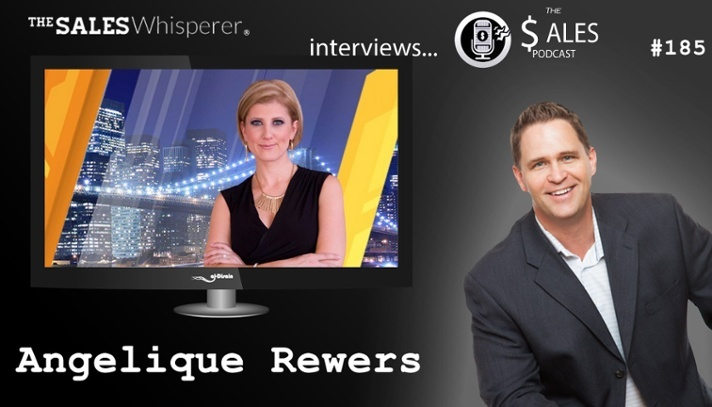 Angelique Rewers talks professional development on The Sales Podcast with Wes Schaeffer, The Sales Whisperer®