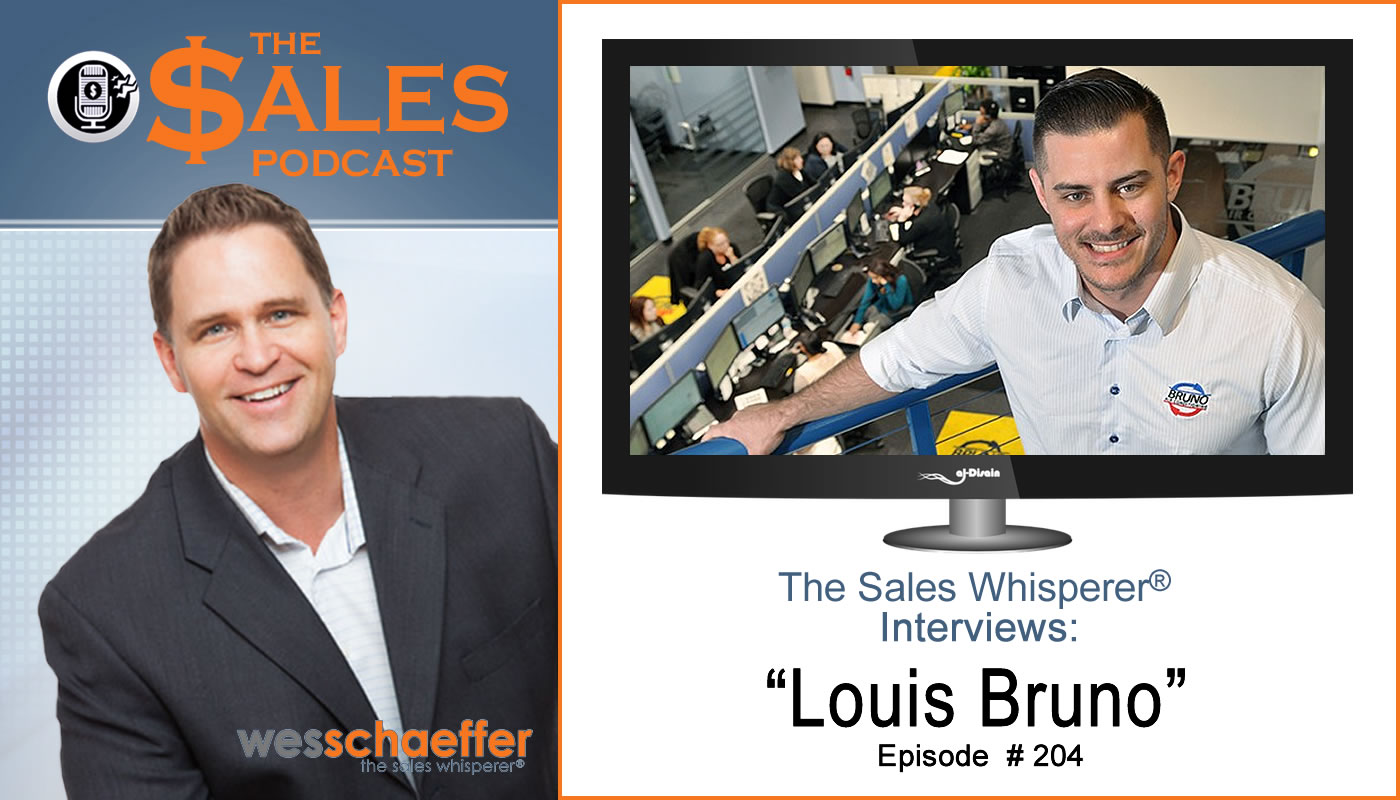 Entrepreneur Louis Bruno focused on professional development to grow his sales. Hear how on The Sales Podcast.